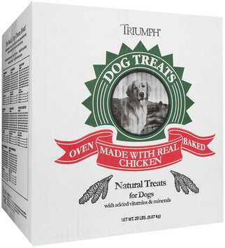 Zeigler's Distributor Inc Triumph Biscuits Dog Treat Bulk Box Large Assorted