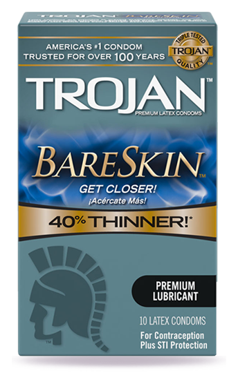 TROJAN™ BARESKIN™ Lubricated Condoms