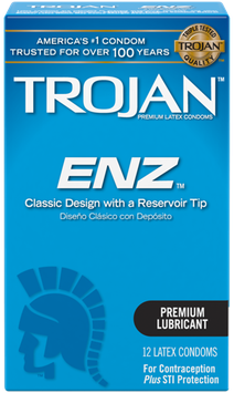 TROJAN™ ENZ™ Lubricated Condoms