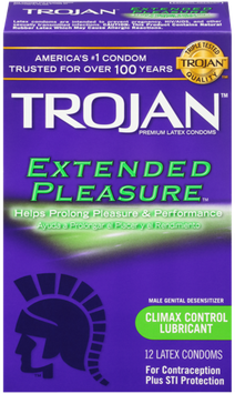 TROJAN™ Extended Condoms with Climax Control Lubricant