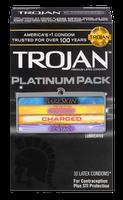 TROJAN™ Platinum Pack Lubricated Condoms