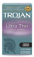 TROJAN™ Ultra Thin Lubricated Condoms