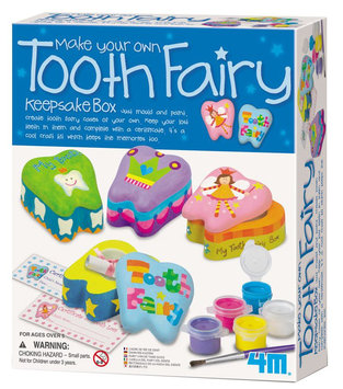 4M Toysmith Tooth Fairy Keepsake Box - 1 ct.