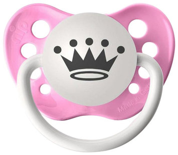 Personalized Pacifiers - Princess Crown - Pink - 1 ct.