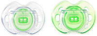 Tommee Tippee Closer to Nature Air Pacifiers - Green or Blue - 0 - 6 Months - 2 - 2 ct.