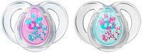 Tommee Tippee Closer to Nature Everyday Pacifiers - Girls - 6 - 18 Months - 2 ct
