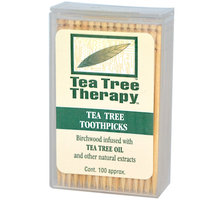 Tea Tree Therapy Toothpicks