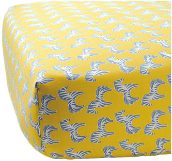 Serena & Lily Zebra Crib Sheet- Cloud - 1 ct.
