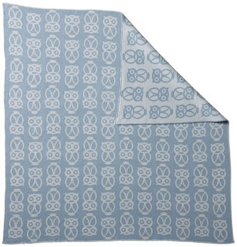Serena & Lily Owl Baby Blanket- Chambray - 1 ct.