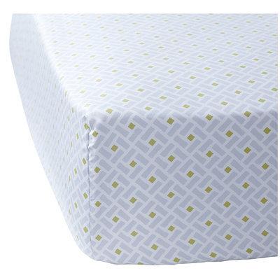 Serena & Lily Bamboo Crib Sheet - Cloud - 1 ct.