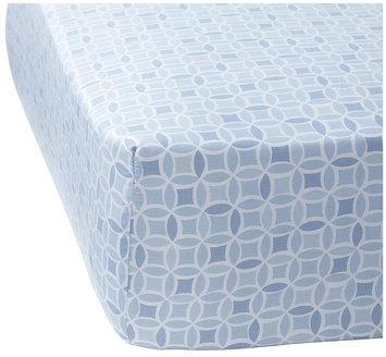 Serena & Lily Kaleidescope Crib Sheet- Blue - 1 ct.
