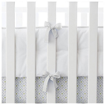 Serena & Lily Nursery Basics Crib Bumper- White - 1 ct.