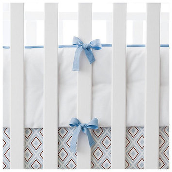 Serena & Lily Nursery Basics Crib Bumper- Chambray - 1 ct.