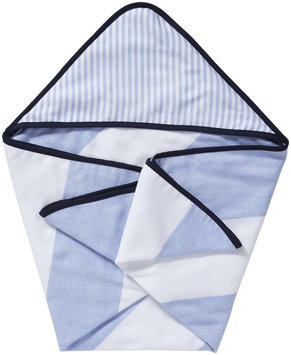Serena & Lily Fouta Hooded Bath Towel- Navy