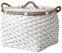 Serena & Lily Rope Basket - Low Medium - White - 1 ct.