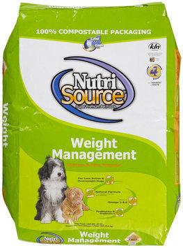 Super-dog Pet Food Company Tuffies Pet Nutrisource Weight Management Dry Dog Food 30 Lb bag