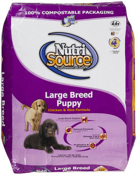 Super-dog Pet Food Company Tuffies Pet Nutrisource Large Breed Puppy Dry Dog Food 30 Lb bag