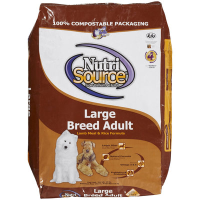 Nutri-source NutriSource Large Breed Lamb and Rice Dry Dog Food