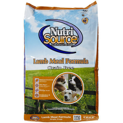 Phillips Feed & Pet Supply NutriSource GF Lamb Dry Dog Food 30lb