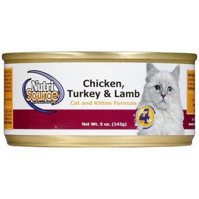 Nutri-source Nutri Source Cat & Kitten - Chicken, Turkey & Lamb - 12 x 5 oz