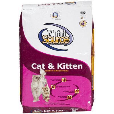 Nutri-source Nutri Source Cat & Kitten - Chicken & Rice