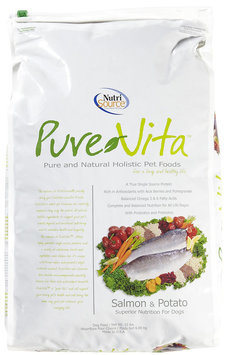 Pure Vita Dry Dog Food - Salmon & Potato