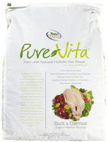 Super-dog Pet Food Company Pure Vita Duck and Oatmeal Dry Dog Food 25lb