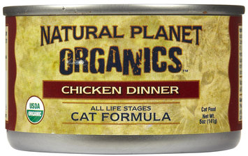 Natural Planet Organics Cat Formula - Chicken - 12 x 5 oz