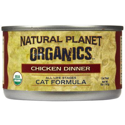 Natural Planet Organics Cat Formula - Chicken - 12 x 5 oz