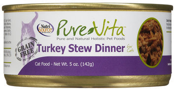 Pure Vita Grain Free Turkey Stew - 12 x 6 oz