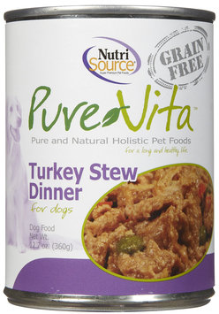 Pure Vita Grain Free Turkey Stew - 12 x 12.7 oz