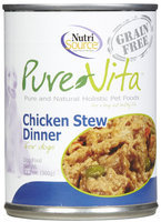 Phillips Feed & Pet Supply Pure Vita Chicken Stew Can Dog Food 12 Pack