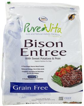 Phillips Feed & Pet Supply Pure Vita Grain Free Bison Dry Dog Food 25lb