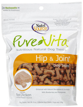 Pure Vita Hip & Joint Dog Treats - 6 oz