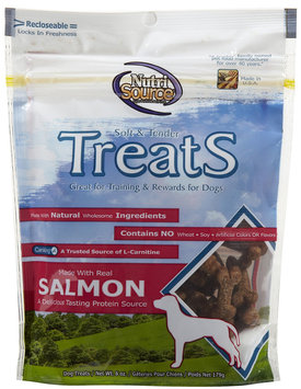 Nutri-source Nutri Source Soft & Tender Treats - Salmon - 6 oz