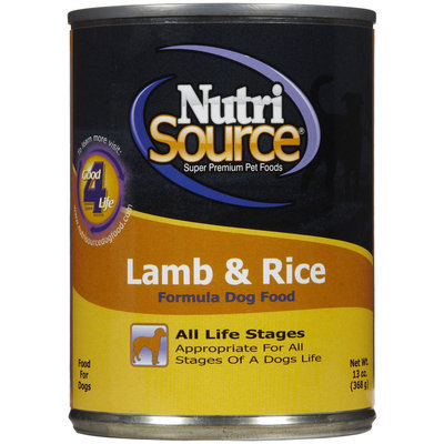 Super-dog Pet Food Company Lamb and Rice Wet Dog Food
