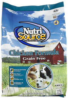 Nutri-source Grain Free Chicken Dry Dog Food Size: 5-lb bag