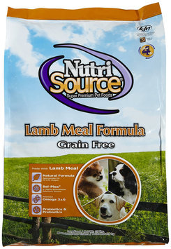 Nutri-source NutriSource GF Lamb Dry Dog Food 15lb