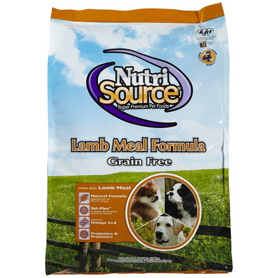 Nutri-source NutriSource GF Lamb Dry Dog Food 15lb