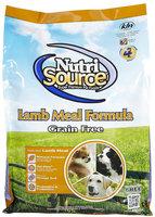 Nutri-source Grain Free Lamb Meal Dry Dog Food Size: 5-lb bag