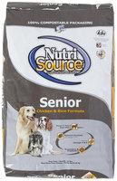 Super-dog Pet Food Company Tuffies Pet Nutrisource Senior Dry Dog Food 18 Lb bag