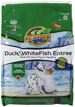 Natural Planet Organics Grain Free Duck & Whitefish