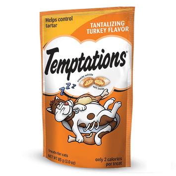 TEMPTATIONS™ Classic Treats For Cats Tantalizing Turkey Cat Treats