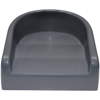Prince Lionheart 6990 Soft Booster Seat - Charcoal Grey