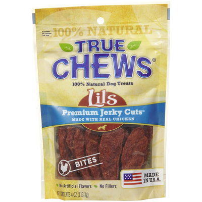 True Chews Premium Chicken Jerky Bites - 4oz