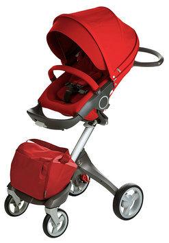 Stokke Xplory Basic Stroller in Red