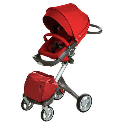 Stokke Xplory Basic Stroller in Red