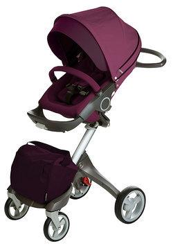 Stokke Xplory Basic Stroller in Purple