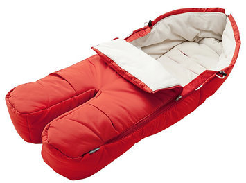 Stokke Xplory Footmuff - Red - 1 ct.