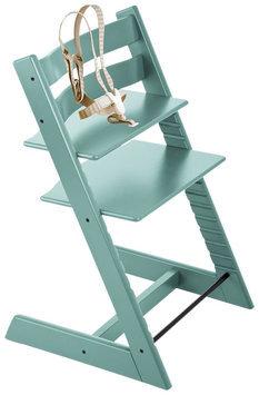Stokke Tripp Trapp Classic Highchair In Aqua Blue